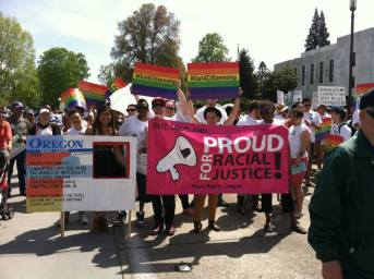 Oregon May Day rally