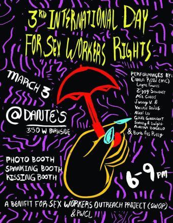 International Sex Worker Rights Portland, Oregon