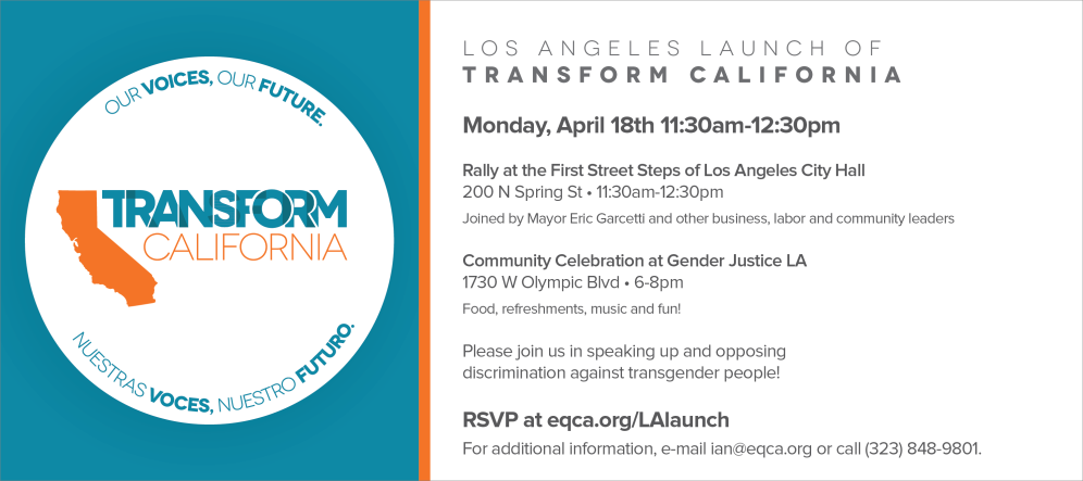 Transform California Press Launch and Rally